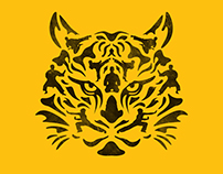 Karate Tiger Illustration