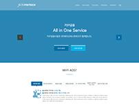 AOS Fintech Web design 03