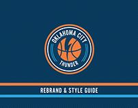 Oklahoma City Thunder Rebrand Concept