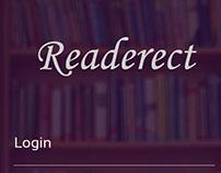 App Design : Readerect