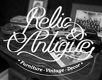 "LOGO ""Relic & Antiques"""