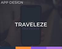 Traveleze App Design Concept