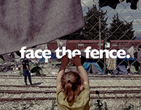 Face The Fence Stunt ✌️ WorldVision & UN