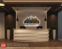Abraj head office design con creative office