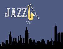 "Série ""Jazz Posters"""