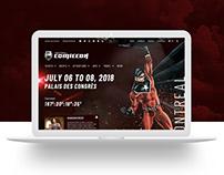 Montreal Comiccon Website Design