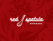 Red Spatula Logo and Packaging