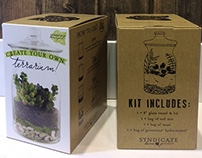 Terrarium Kit Packaging