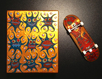 finger board Live Painting
