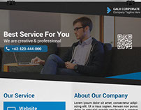 Galx Corporate Premium Flyer Template