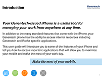 Genentech - Making the Most of Your Mobile Device