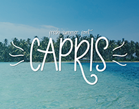 Capris - Fresh Summer Font