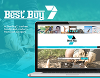 Best Buy 7: Branding , Layout & Social Media Promotion