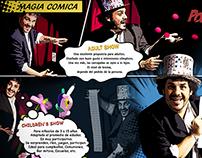 Flyer Magia Sanz