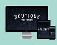 Visual Identity and Web Design for Boutique Productions