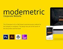 Modemetric Corporate Website