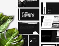 Minimalist Business Presentation/ Pitch Deck Template