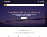 Republic - Responsive Government HTML Template