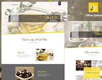 Olive Zaitun HTML Template