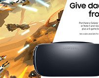 Samsung Gear VR In-Store Promos
