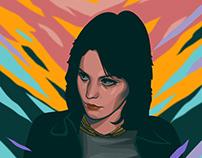 an artwork for Joan Jett