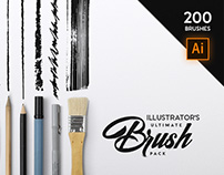 Illustrator's Ultimate Brush Pack