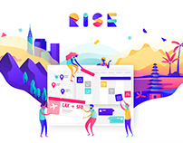 Rise - An UX adventure about group trip organisation