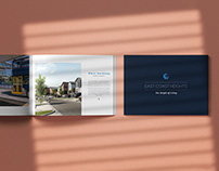Elegant Brochure Design - Eastcoast Heights