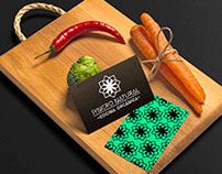 SYNCRO NATURAL - Cocina Orgánica. Identidad + Logo