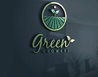 Amazing green growers logo