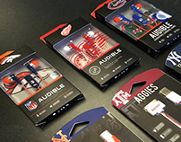 2014 Sports Licensed Packaging: NFL, MLB, NHL, NCAA