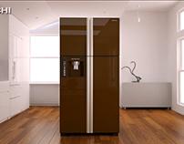 Hitachi French Door Refrigerator