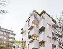 Apartment complex / Doppleiche Wedel