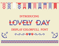 LOVELY-DAY-COLOR-CROSSSTICH OTF-SVG multicolor font