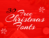 30+ Free Super Cute & Fascinating Christmas Fonts