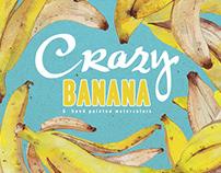 Crazy Banana Pattern