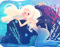 The Mermaid-Illustration