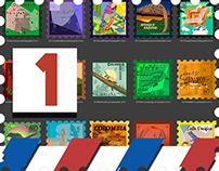 Estampillas - Postage Stamps 01