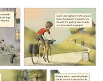 Cartolina dai Pirenei: Pensieri dalla striscia di gesso