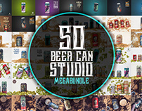 BEER CAN STUDIO MEGABUNDLE X50