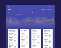 UX/UI design for Analytic Tool