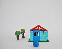 Blobby's House_a Fun Stop Motion video.