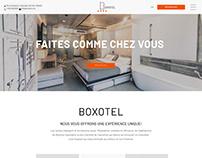 Refonte du site web ''BOXOTEL''