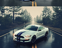 Car photo compositing