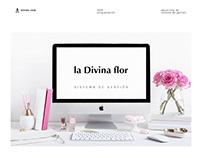 LA DIVINA FLOR / Sistema de gestión