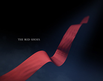 The Red Shoes Film Title Sequence Style Frames