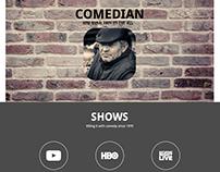 Website for comedian Guy Becker
