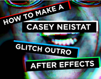 How to make a Casey Neistat Glitch/ 3D Outro