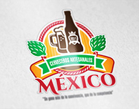 Mexican Brewery Union branding