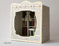 Enter The Magic World of Books - Diorama